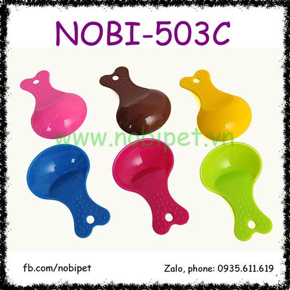 Muỗng Nhựa Cá Nhỏ Lấy Thức Ăn Cho Sóc Cảnh Nobi-503C