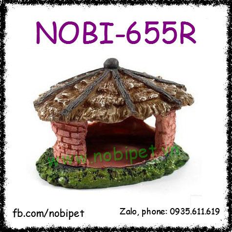 Nhà Gạch Cổ Xưa Mô Hình Trang Trí Chuồng Nuôi Bò Sát Nobi-655R