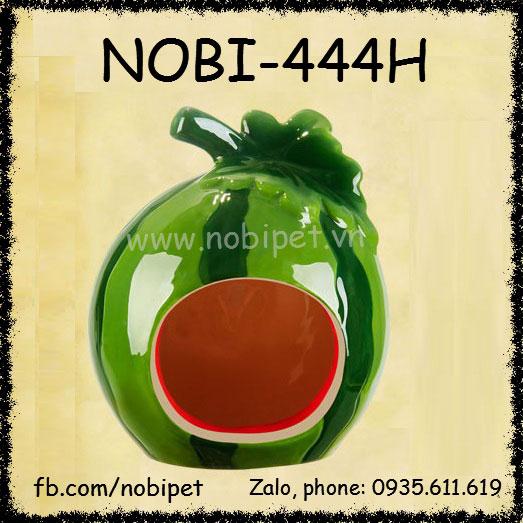 Nhà Ngủ Dưa Hấu Sứ Cho Chuột Hamster Trú Ẩn Nobi-444H