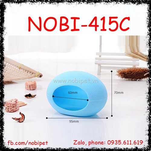 Nhà Ngủ Trứng Nhựa Opal Cho Chuột Hamster Nobi-415H