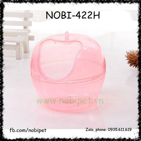 Nhà Tắm Apple Nhựa Trong Suốt Cho Chuột Hamster Nobi-422H