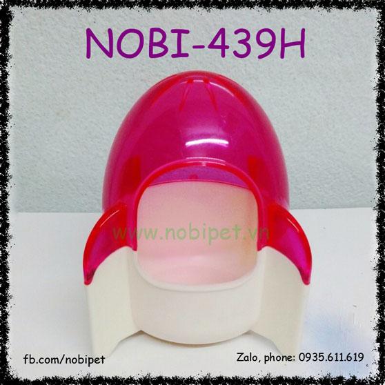 Nhà Tắm Tên Lửa Mica 2 Màu Cho Chuột Hamster Nobi-439H