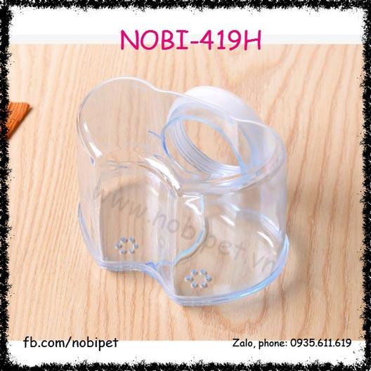 Nhà Tắm Valentine Trong Suốt Cho Chuột Hamster Nobi-419H