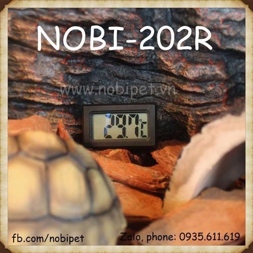 Nhiệt Kế Tiny Kỹ Thuật Số Nomo Không Dây Cho Bò Sát Nobi-202R