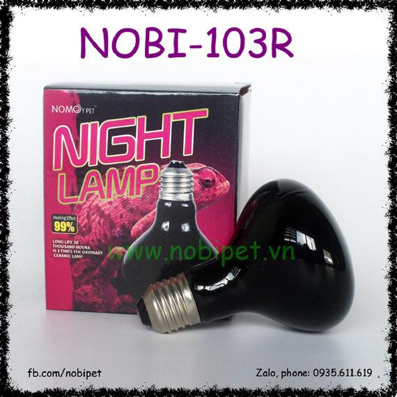 Night Lamp Nomo Bóng Đèn Sưởi Đêm UVA Cho Bò Sát Nobi-103R