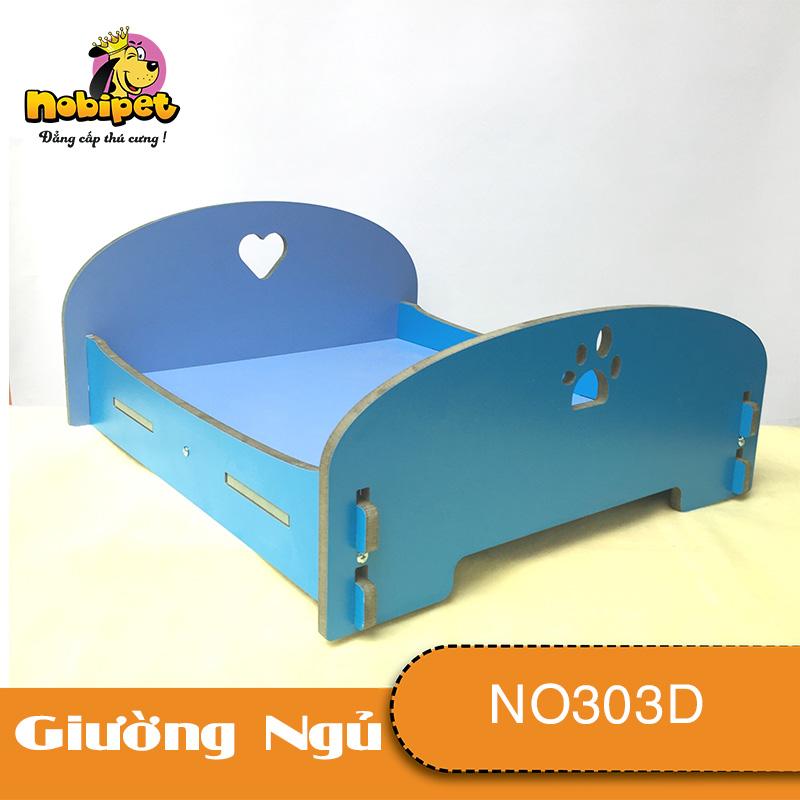 Giường Ngủ Gỗ Lắp Ráp Lovely Medium Cho Chó Mèo Cỡ Trung (50x45x20cm)