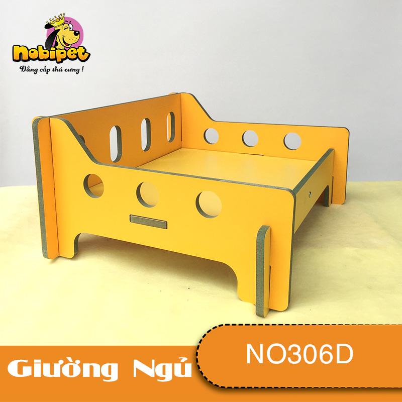 Giường Ngủ Gỗ Lắp Ráp Hulk Mini Dành Cho Chó Mèo Nhỏ NO306D
