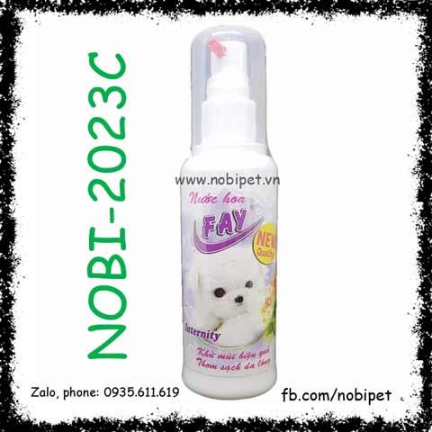 Nước Hoa Fay Internity Hương Hoa Cỏ Cho Chó Mèo Nobi-2023C