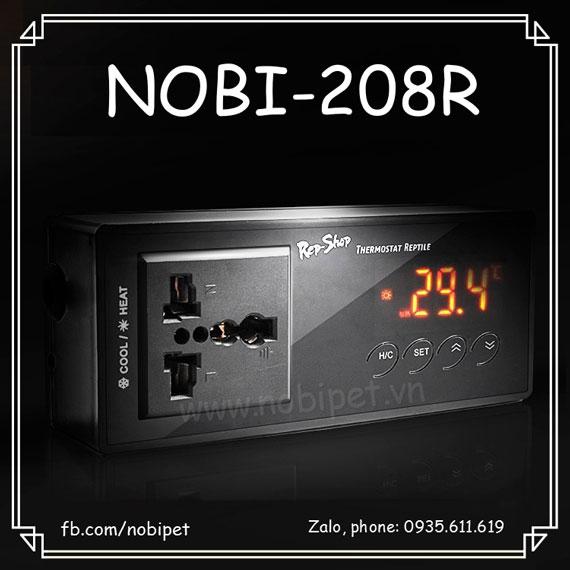 Ổ Điện Thông Minh RS Điều Chỉnh Bóng Nhiệt Cho Bò Sát Nobi-208R