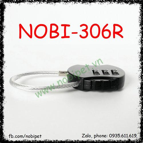 Ổ Khóa Số Mini Nomo Cho Chuồng Nuôi Bò Sát 3 Nút Nobi-306R