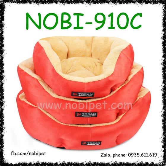 Ổ Nệm Buckingham Cao Cấp Cho Chó Mèo Nằm Nobi-910C