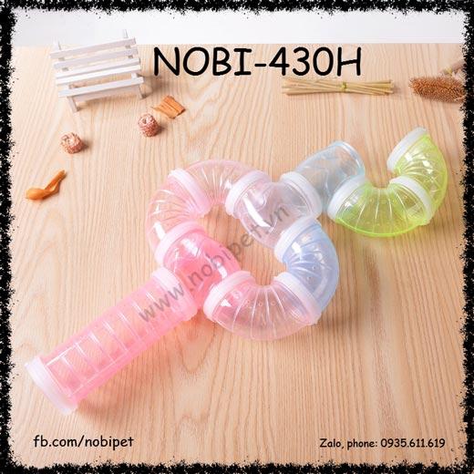 Ống Chui Nhựa Mê Cung FBI Cho Chuột Hamster Nobi-430H