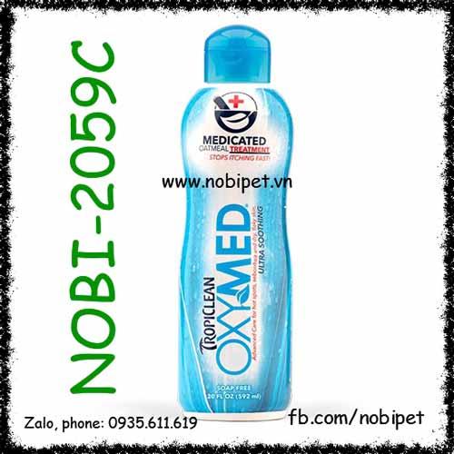 Oxymed Medicated Oatmeal Treatment 592ml Dầu Tắm Đặc Trị Viêm Da