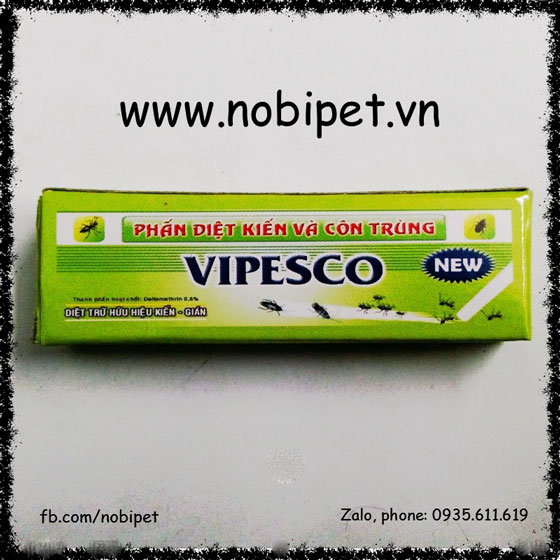 Phấn Diệt Kiến, Dán, Côn Trùng Vipesco Hộp 2 Viên NOBI-2083C