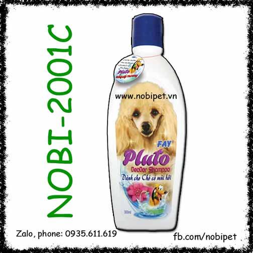 Pluto Deodor Shampoo 300ml Sữa Tắm Cho Chó Mèo Fay Khử Mùi Hôi
