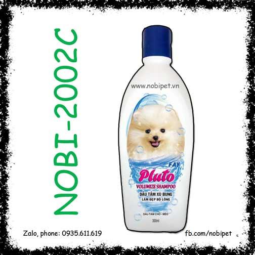 Pluto Volumize Shampoo 300ml Sữa Tắm Cho Chó Mèo Giúp Lông Xù Bung