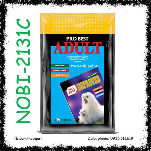 Probest Adult 500gr Thức Ăn Hạt Cho Chó Lớn Trên 12 Tháng Nobi-2131C