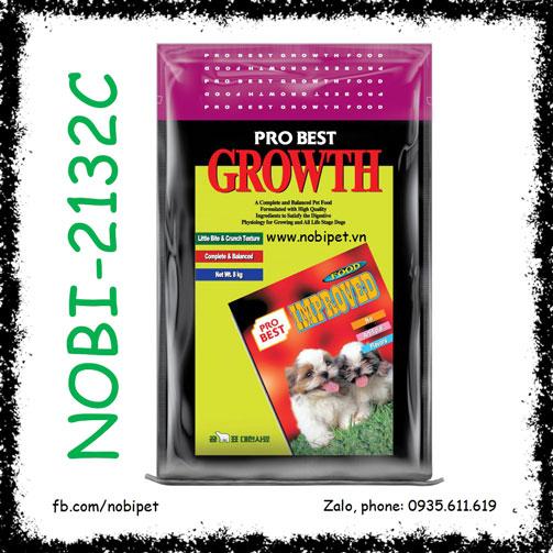 Probest Growth 500gr Thức Ăn Cho Chó Từ 2 – 12 Tháng Tuổi Nobi-2132C