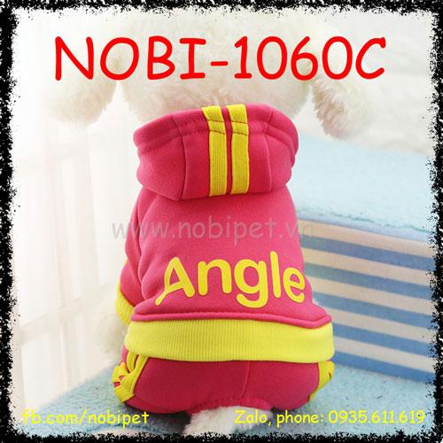 Quần Áo Cho Chó Angel Thu Đông Thời Trang Nobi-1060C
