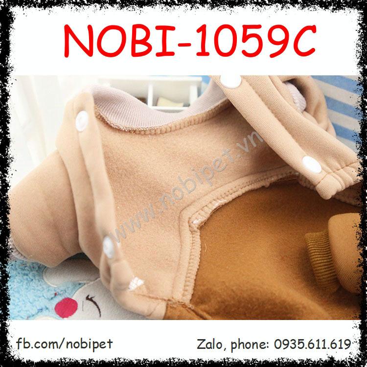Quần Áo Cho Chó New Totoro Thời Trang Thu Đông Nobi-1059C
