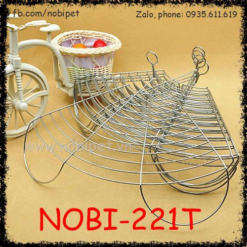 Ray Lưới Thép Không Gỉ Cho Khay Vệ Sinh Thỏ Kiểng Bọ Ú Nobi-221T