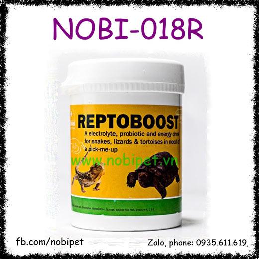 Reptoboost Chất Điện Giải Và Khuẩn Probiotics Cho Bò Sát Nobi-018R