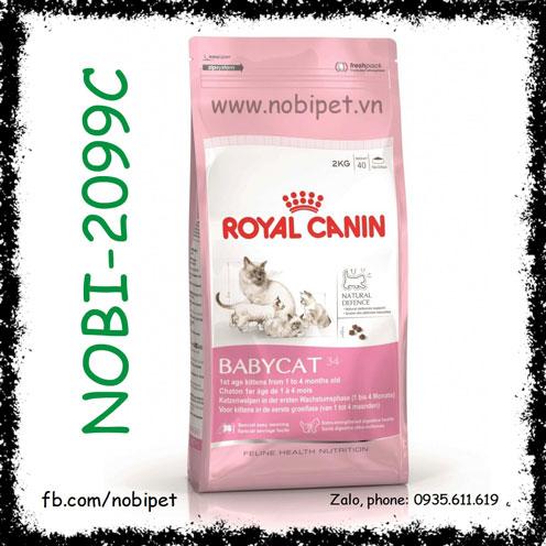 Royal Canin Fhn Baby Cat 400gr Thức Ăn Cho Mèo Con Từ 1 - 4 Tháng