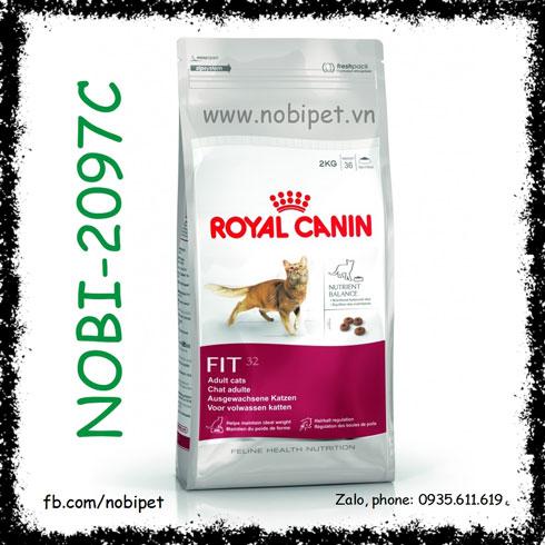 Royal Canin Fhn Fit 32 400gr Thức Ăn Cho Mèo Trên 12 Tháng Tuổi