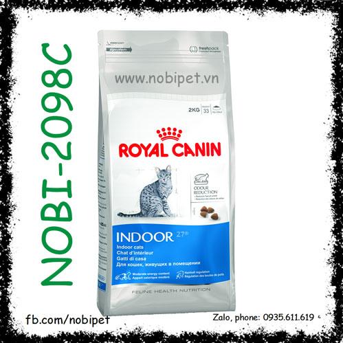 Royal Canin Fhn Indoor 27 400gr Thức Ăn Cho Mèo Nhà Trên 12 Tháng