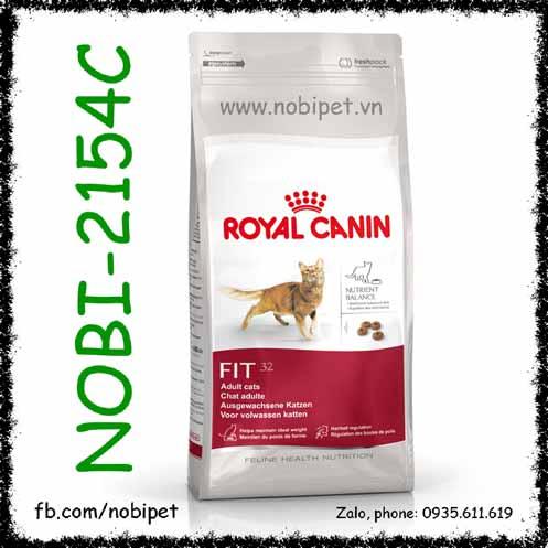Royal Canin Fit 32 2kg Thức Ăn Hạt Cho Mèo Trên 12 Tháng Tuổi
