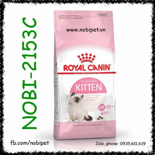 Royal Canin Kitten 2kg Thức Ăn Cho Mèo Con Từ 4 - 12 Tháng Nobi-2153C
