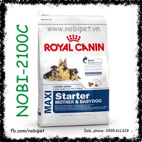 Royal Canin Maxi Starter Mother & Babydog 1kg Thức Ăn Cho Chó Mẹ Và Con
