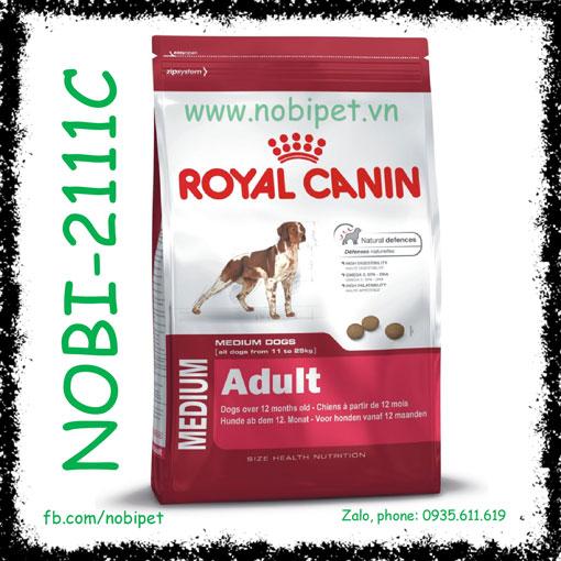 Royal Canin Medium Adult 1kg Thức Ăn Cho Chó Size Trung Trên 12 Tháng