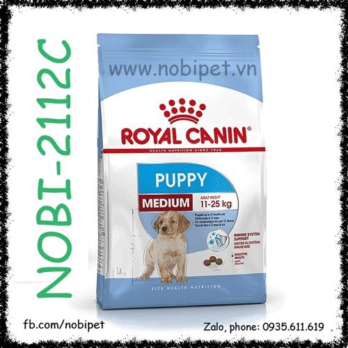 Royal Canin Medium Puppy 1kg Thức Ăn Cho Chó Size Trung Dưới 12 Tháng