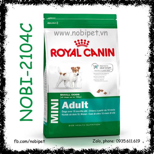 Royal Canin Mini Adult 2kg Thức Ăn Hạt Cho Chó Trên 10 Tháng Size Nhỏ