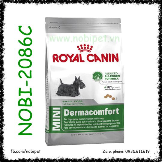 Royal Canin Mini Dermacomfort 800gr Thức Ăn Giảm Dị Ứng Da Chó 1- 10kg