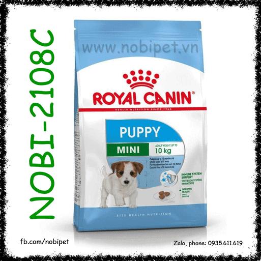 Royal Canin Mini Puppy2kg Thức Ăn Cho Chó Size Nhỏ Dưới 10 Tháng
