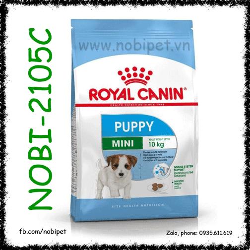 Royal Canin Mini Puppy 800gr Thức Ăn Hạt Chó Size Nhỏ Dưới 10 Tháng