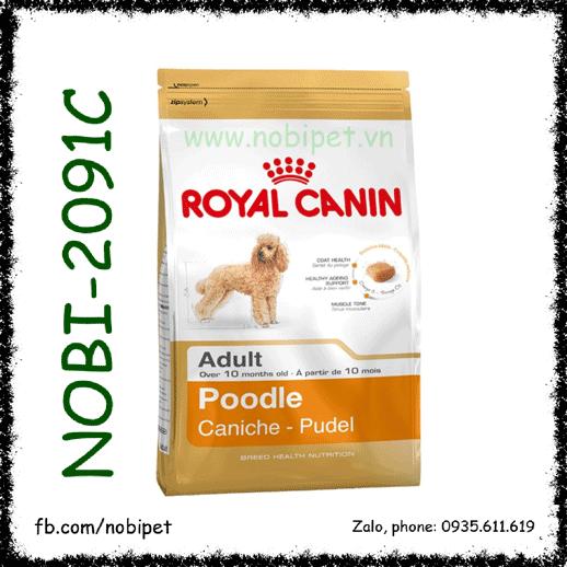 Royal Canin Poodle Adult 500gr Thức Ăn Cho Chó Trên 10 Tháng Tuổi