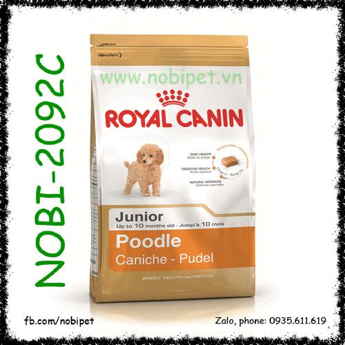 Royal Canin Poodle Junior 500gr Thức Ăn Cho Chó Trên 2 Tháng Tuổi