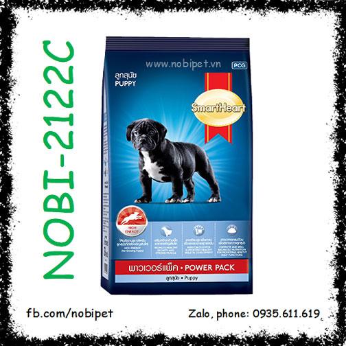 SmartHeart Puppy Power Pack 3kg Thức Ăn Cho Chó Cơ Bắp Dưới 12 Tháng