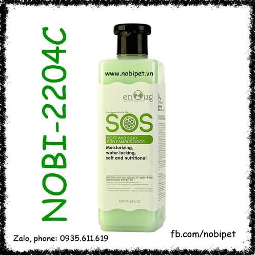 Sữa Tắm SOS Green 530ml Cho Chó Giúp Mượt Lông Thơm Lâu Nobi-2204C