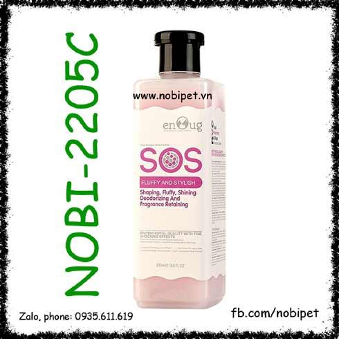 Sữa Tắm SOS Pink 530ml Cho Chó Lông Xù Giúp Tạo Kiểu Nobi-2205C