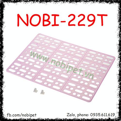 Tấm Nhựa Lót Sàn Chuồng Nuôi Thỏ Kiểng Bọ Ú Nobi-229T