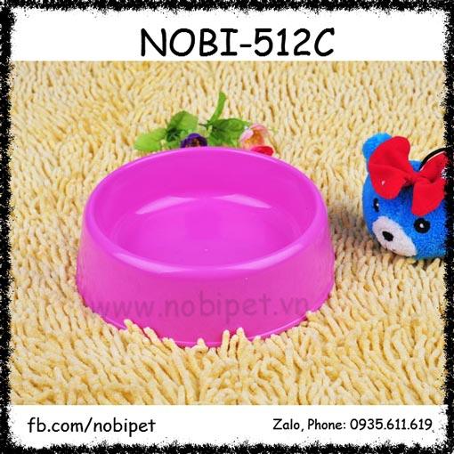 Tcup Chén Ăn Cho Chó Mèo Bằng Nhựa Size Nhỏ Nobi-512C