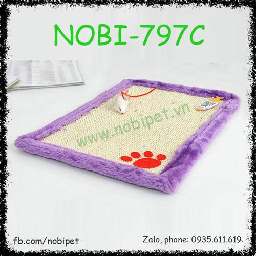 Thảm Nằm Linda Cho Mèo Cào Móng Nobi-797C