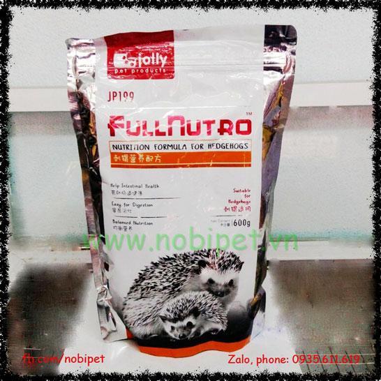 Thức Ăn Cao Cấp Cho Nhím Kiểng Nhiều Dinh Dưỡng Fullnutro