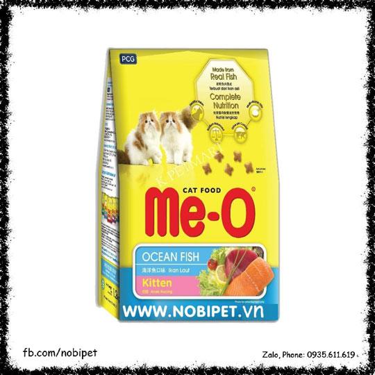 Me-O Ocean Fish Kitten 1.1kg – Thức Ăn Hạt Cho Mèo Con NOBI-114M