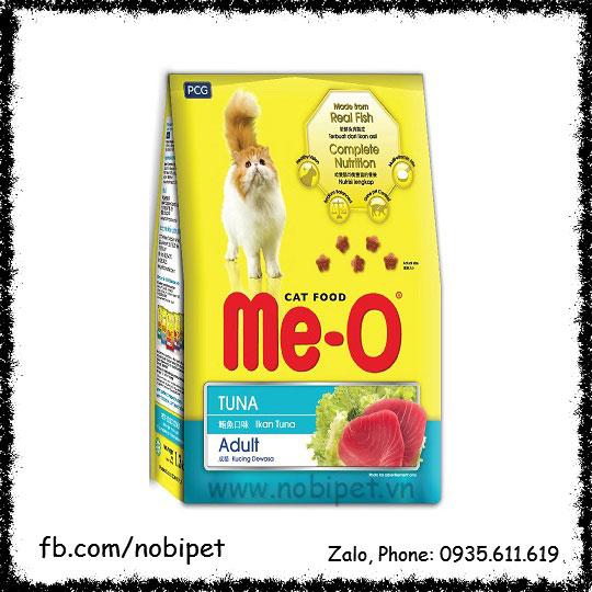 Me-O Tuna Adult 350gr – Thức Ăn Hạt Cho Mèo Trưởng Thành NOBI-115M
