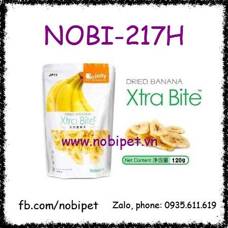 Thức Ăn Chuối Sấy 120gr Thơm Ngon Cho Chuột Hamster Nobi-217H